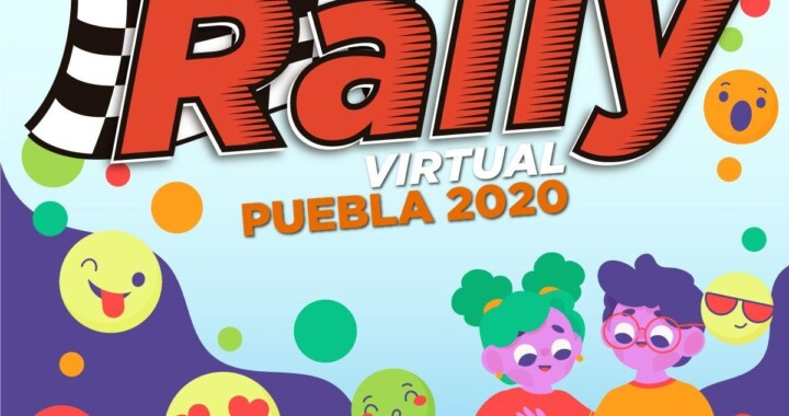Rally Virtual Puebla 2020 una competencia divertida para niños