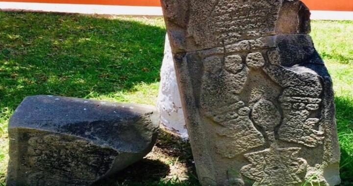 Descubren centro ceremonial con piezas prehispánicas en Axutla
