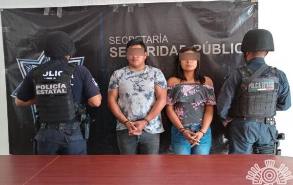 Capturan a vendedores de autopartes robadas de la 46 Poniente
