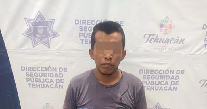"""Detienen a """"El Chica Mala"""" en Tehuacán"""