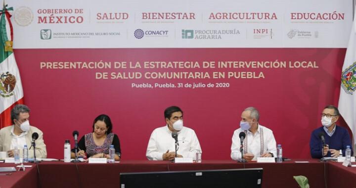 López-Gatell presenta estrategia de acción comunitaria contra Covid-19 en Puebla