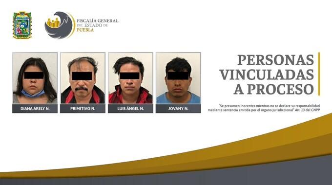 FGE Puebla rescató a un joven secuestrado y detuvo a 4 personas en EdoMex