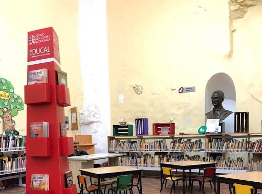 Bibliotecas públicas de Puebla recibirán títulos del FCE