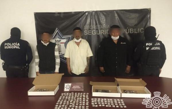 Detienen en Texmelucan a presuntos homicidas