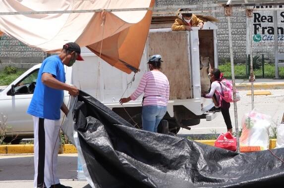 Prohíben la instalación de vendedores ambulantes en Boulevard Carmelitas