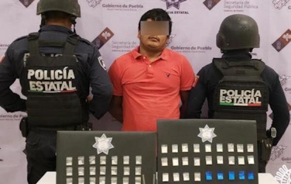 """Detienen en Tehuacán a presunto integrante de la banda de """"El Cubano"""""""