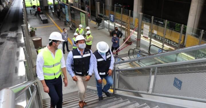 Inician trabajos de sustitución de escaleras eléctricas y elevador  de la Línea 1 de RUTA