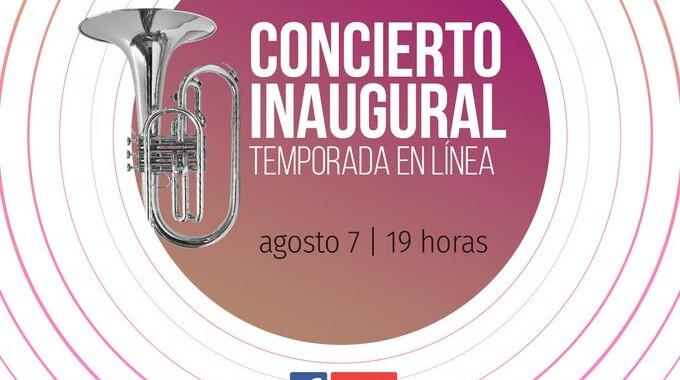 Sinfónica del estado inicia temporada de conciertos en línea