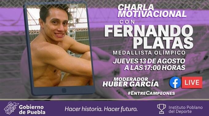 No te pierdas la Charla motivacional impartida por Fernando Platas