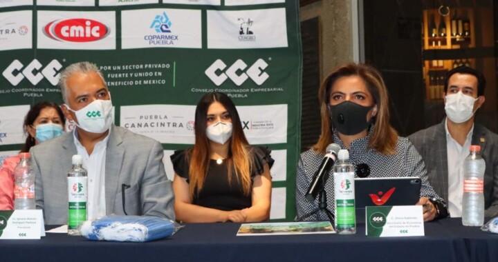 Ante pandemia, empresarios donan un millón de cubrebocas