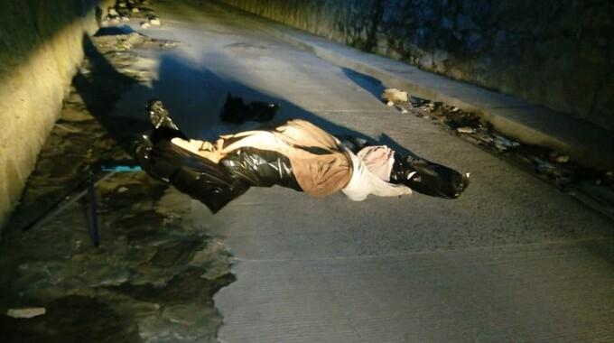 Dejan cuerpo embolsado en San Francisco Totimehuacán