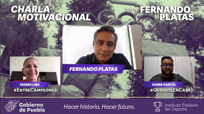 """""""Todos tenemos una medalla en el corazón"""": Fernando Platas"""