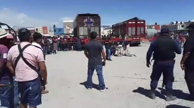 Linchan a presunto ladrón en Huixcolotla