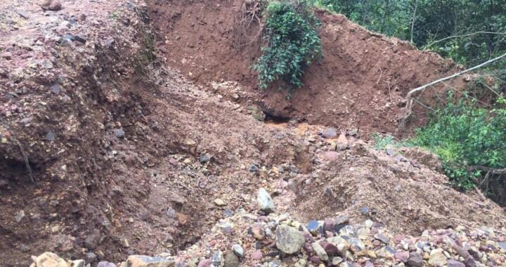 Continúan los recorridos por municipios de la Sierra Norte afectados por lluvias