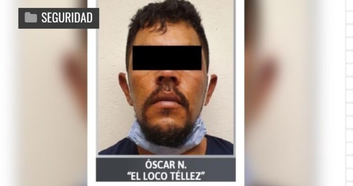 """Aprehenden a """"El Loco Téllez"""" por dos asesinatos en San Martín Texmelucan"""
