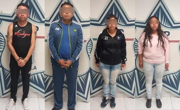 "Policía captura a integrantes de la banda  de ""El Pelón"""