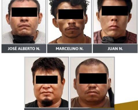 En prisión presunto grupo delictivo que secuestró a un taxista