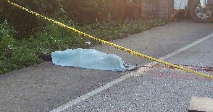 Muere un hombre atropellado por camioneta en San Pedro Zacachimalpa
