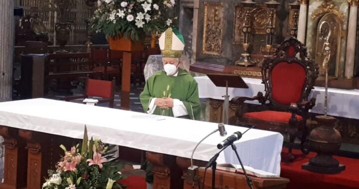Exhorta arzobispo a seguir cumpliendo con las medidas sanitarias
