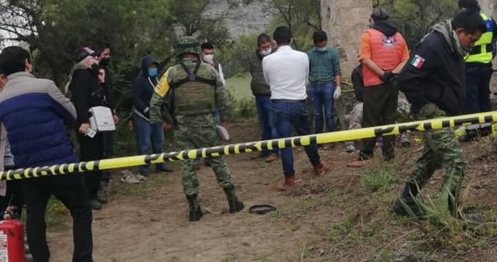 Encuentran restos humanos al interior de un pozo en Quecholac