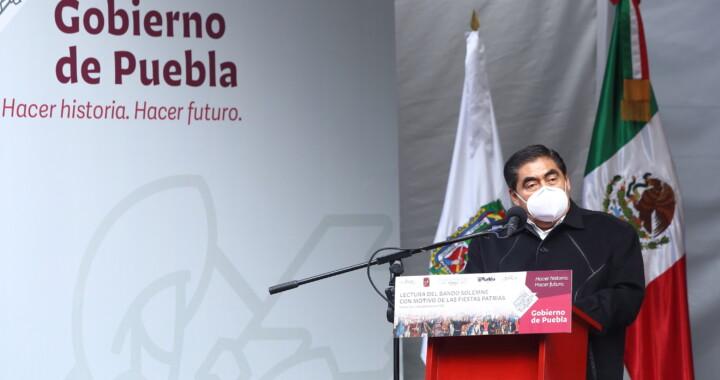 Barbosa Huerta llama a los poblanos a la concordia y al entendimiento