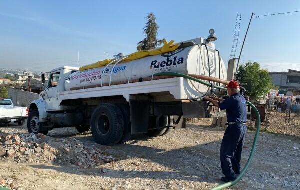 Con distribución de agua, Ayuntamiento beneficia 80  localidades