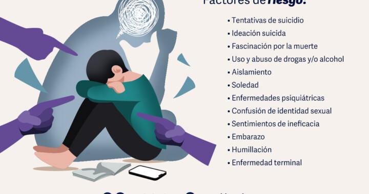 Fomenta Salud la prevención para evitar la autolesión y el suicidio