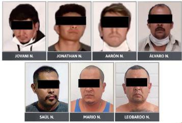 Logran vinculación a proceso de siete detenidos por delito contra la salud