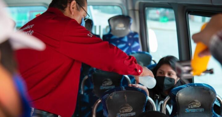 Realiza SMT operativos de sana distancia en Zaragoza