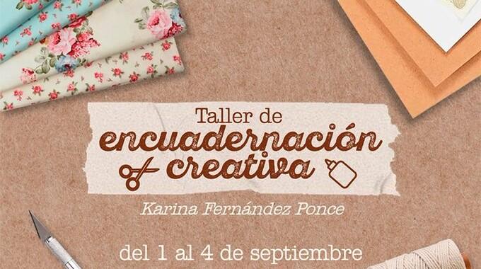 Secretaría de Cultura ofrecerá taller de encuadernación artesanal en línea