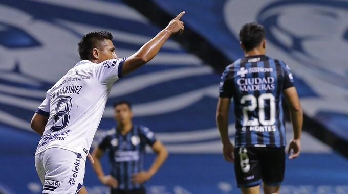 Puebla rescató empate con Querétaro