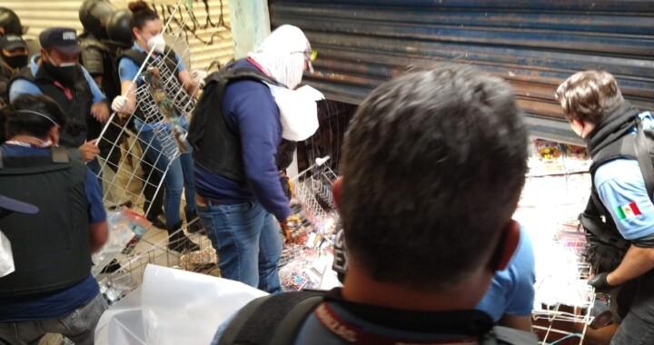 Decomisan cuatro toneladas de producto apócrifo en La Cuchilla