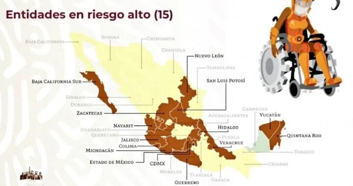 Puebla pasa a color amarillo en el semáforo epidemiológico
