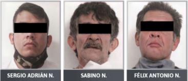 """Dan prisión preventiva a tres detenidos con droga, uno operaba para """"El Grillo"""""""