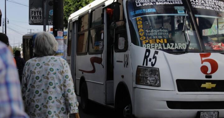 No están conectadas al C5 el 40% de las unidades del transporte público: SMT