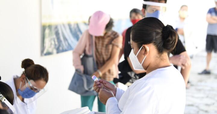 Promueve Salud campaña de vacunación anti influenza