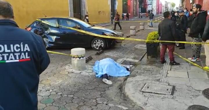 Muere tamalero tras ser atropellado en el Centro Histórico