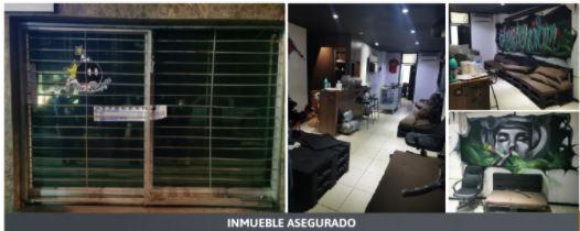Durante cateo FGE asegura en La Juárez más de 19 kilos de droga y a una persona