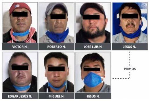 Dan formal prisión a 15 presuntos delincuentes en San Martín