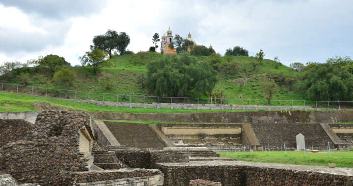 Realizan reapertura de la zona arqueológica de Cholula