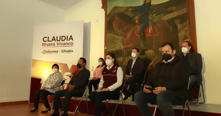 """Que ninguna localidad vuelva a quedar en el rezago"": Claudia Rivera"