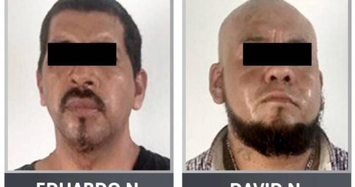 Tras las rejas presuntos homicidas durante robo a un banco en Chietla
