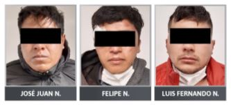 Dan prisión preventiva a presuntos secuestradores de una pareja