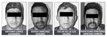 Sentencian a cuatro hombres por robo de mercancía a tren en Soltepec