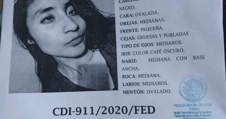 Encuentran cadáver de joven desaparecida en Cuautlancingo
