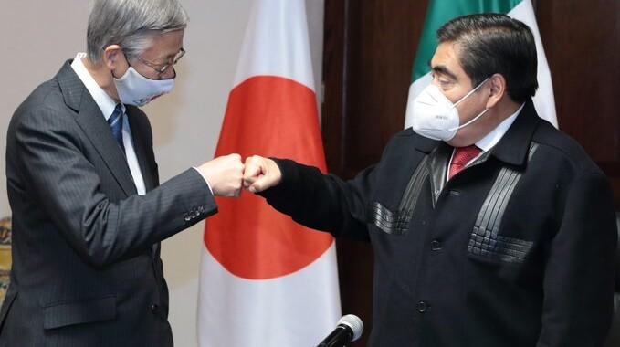 Propone Japón a Puebla ampliar relaciones bilaterales