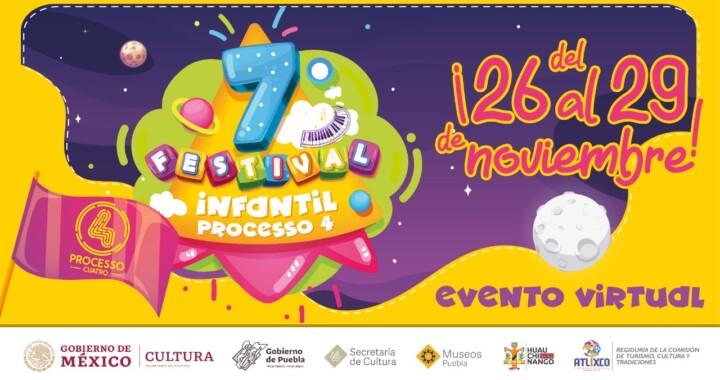"Presentan 7º Festival Infantil ""PROCESSO 4"""