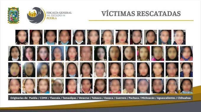 Desarticulan tres centros de explotación sexual y rescatan a 74 mujeres