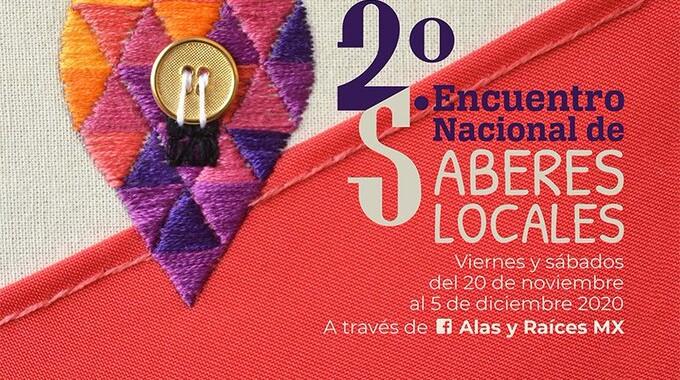 Puebla presente en Encuentro Nacional de Saberes Locales