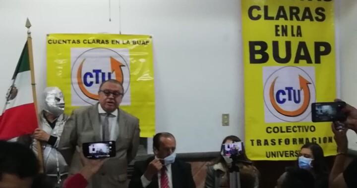 Grupo de docentes piden a las autoridades revisar recursos públicos de la BUAP
